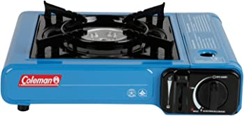 Coleman 1-Burner Tabletop Butane Camp Stove With Carrying Case