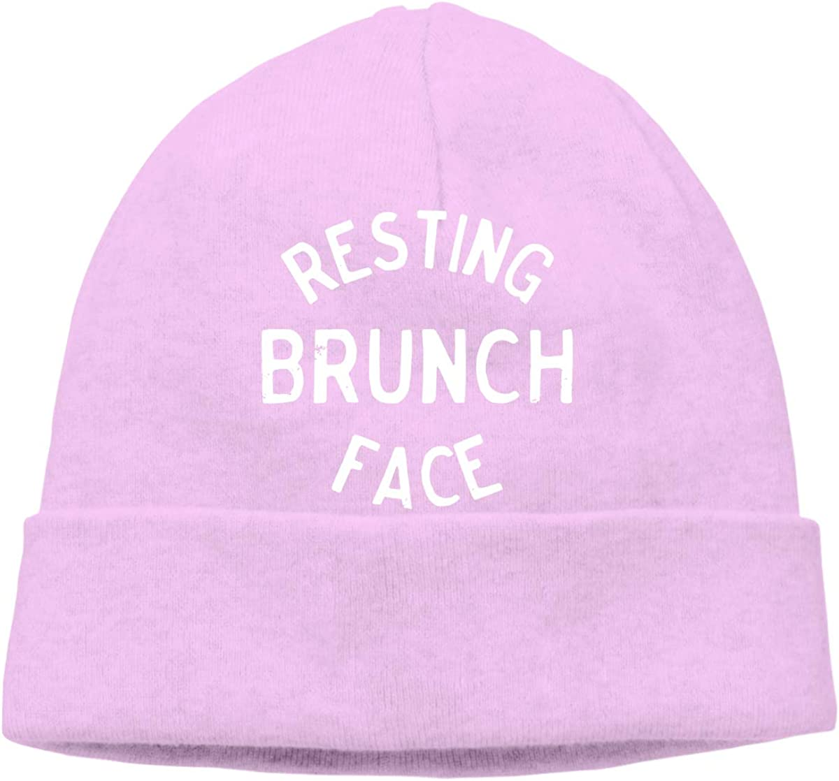 Daily Skiing Cap BF5Y3z/&MA Mens and Womens Resting Brunch Face Knit Cap