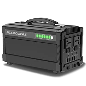 ALLPOWERS 288Wh AC出力350W ポータブル電源