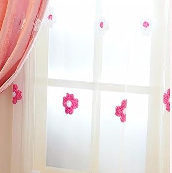 QPGGP Cortinas Toallas Bordadas Cortinas Habitación para Niños Niñas Dormitorio Princesa Cortinas De Ventana, B-168 X 250 Cm (Anch × H) × 2: Amazon.es: ...