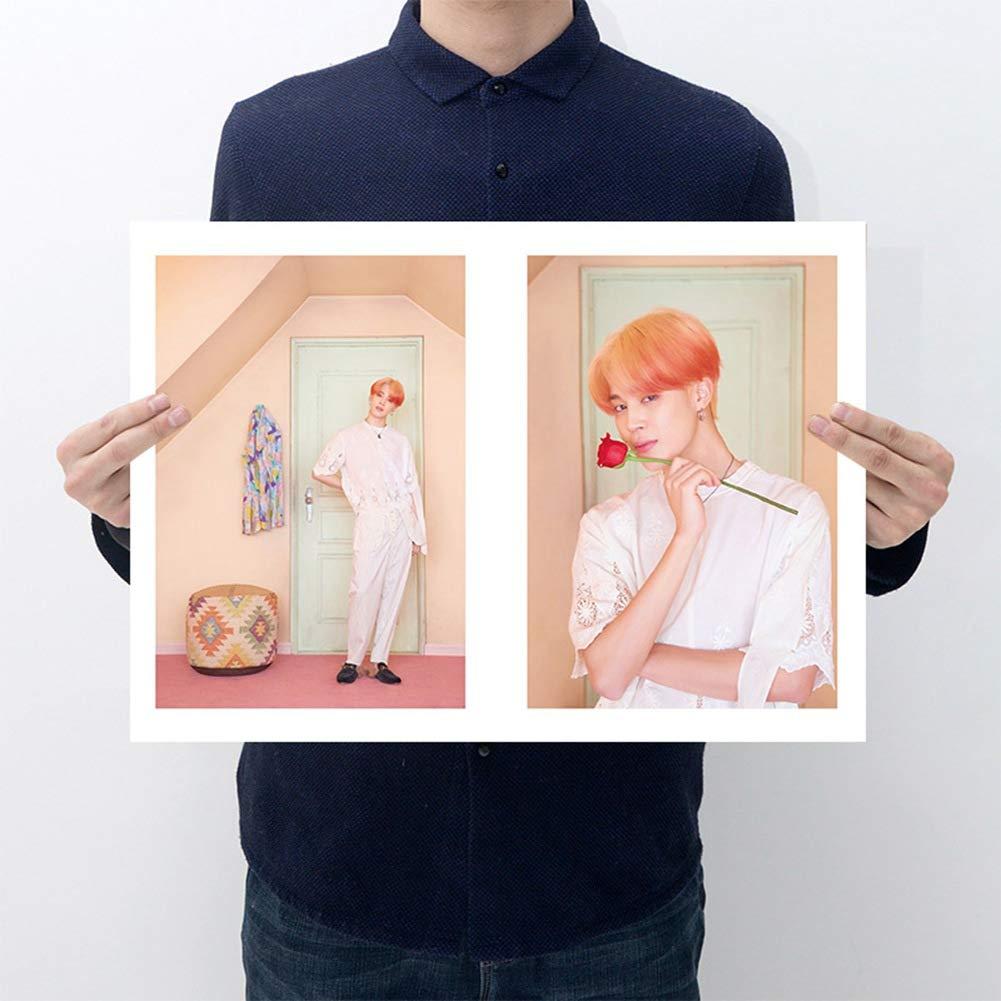 papel pintado Style01 zhongjiany KPOP BTS FACE YOURSELF Wall Poster Papel pintado de Bangtan para ni/ños
