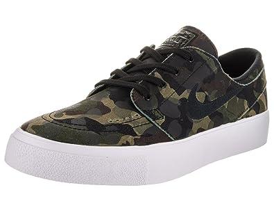 0d9ab27f5dded Nike Men's Zoom Stefan Janoski Premium White/Black-White-Multi-Color  Ankle-High Leather Skateboarding Shoe - 10.5M
