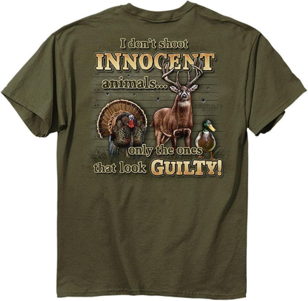 Buck Wear Mens Innocent Animals T-Shirt