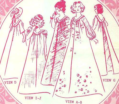 Vintage Uncut Hawaiian Muumuu Plus-size Sewing Pattern - Multi-sized 40/42/44/46/48/50