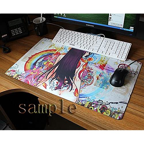 Anime Spice And Wolf Animal Ears Holo The Wise Wolf Big Mouse Pad Dimensions:60X35X0.2 CM durable service