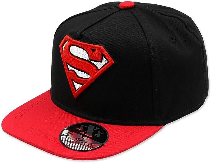 SUPERMAN DC COMICS - Gorra con Visera Plana, Estilo Hip Hop, con ...