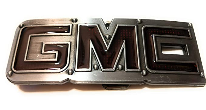Amazon.com: GMC Logo 3D Letters Belt Buckle: Clothing