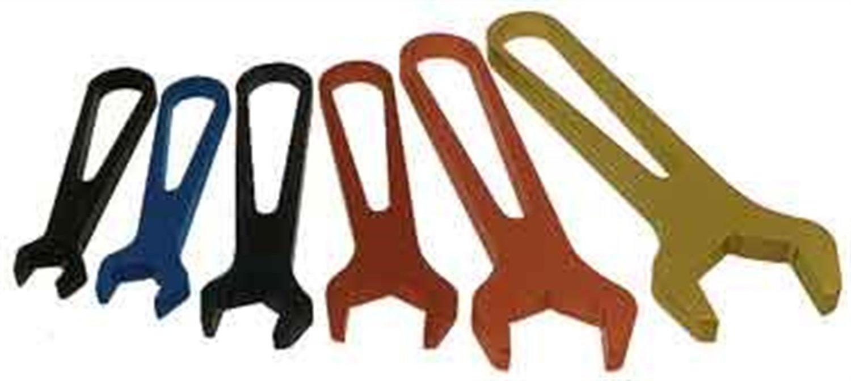 Aeroquip FCM3410 Anodized Aluminum Wrenches - Set of 6