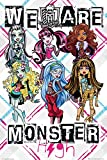 GB eye Monster High We Are Maxi Poster, Multi-Colour