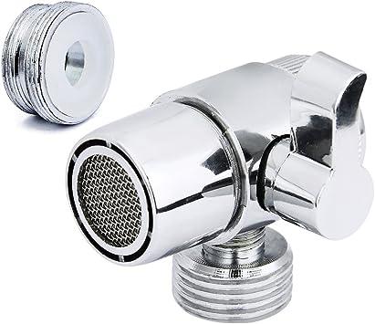 Garosa Adaptador Aseo Bidet Pulverizador Sistema De Ducha Universal Piezas De Repuesto De Componentes V/álvula para Brazo De Ducha Manguera Montada Adaptador M24