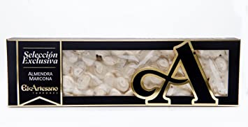 El Artesano EXCLUSIVE SELECTION Turron Alicante (Turron de Alicante Seleccion Exclusiva Duro) 7.7 Oz