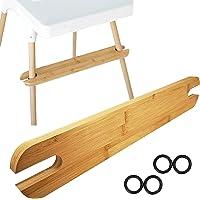 Footrest for IKEA Antilop Highchair, Ergonomic Design Bamboo Footboard, High Chair Accessories Foot Rest,Highchair…