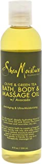 product image for SheaMoisture Olive/Green Tea Bath, Body & Massage Oil, 8 Ounce