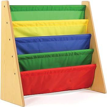 Tot Tutors Kids Book Rack Storage Bookshelf Natural Primary Collection