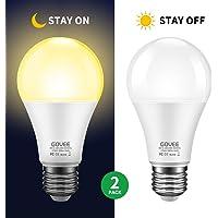 2-Pack Govee 9W (70 Watt Equivalent) Dusk to Dawn LED Light Bulb