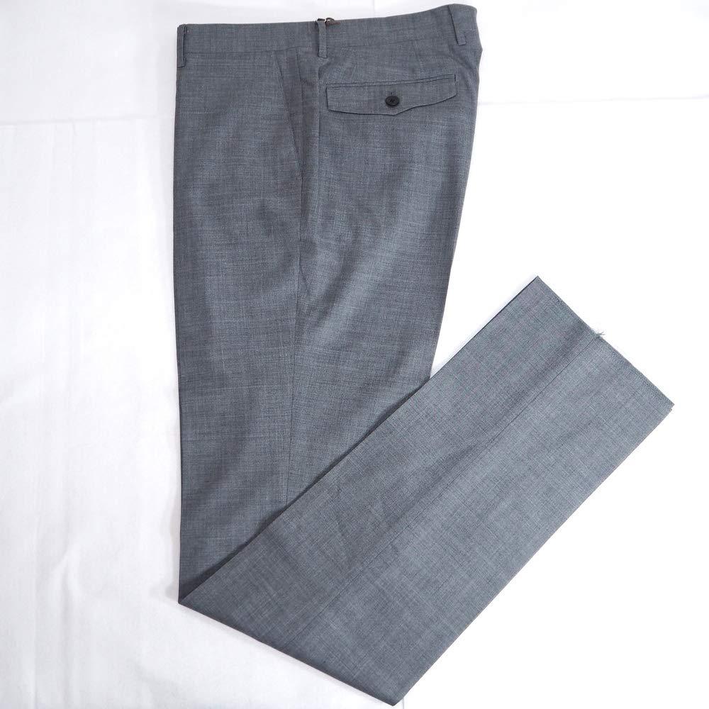 51329 エミネント SAXON 日本製 ウール ノータックパンツ スラックス グレー 82 サイズ 日本製 メンズ カジュアル 男性 春夏 ゴルフ 通販   B07P8VBZKT