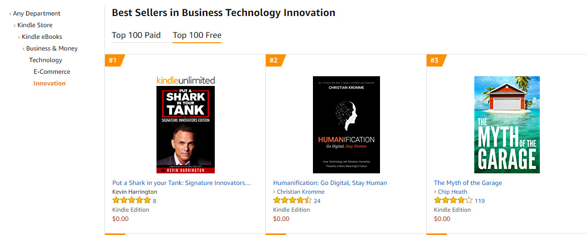 2ca11a72a62a Amazon.com  Put a Shark in your Tank  Signature Innovators Edition ...