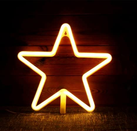 star neon signs led decor light wall decor for christmas decoration birthday party home led decorative