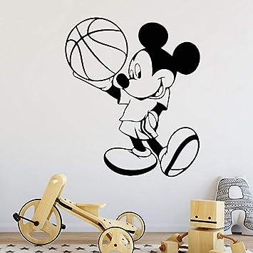 pegatina de pared pegatina de pared frases Mickey Mouse Etiqueta ...