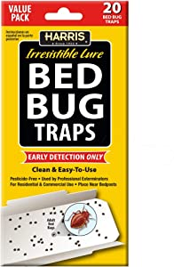 HARRIS Bed Bug Early Detection Glue Traps (20-Pack)