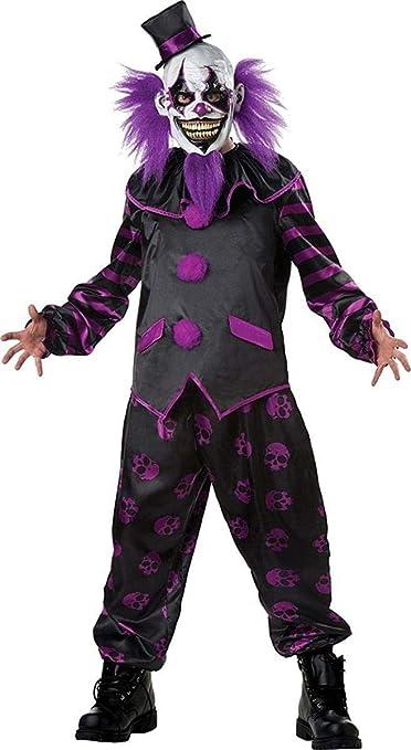 Barbudo payaso adulto disfraz y máscara: Amazon.es: Juguetes y juegos