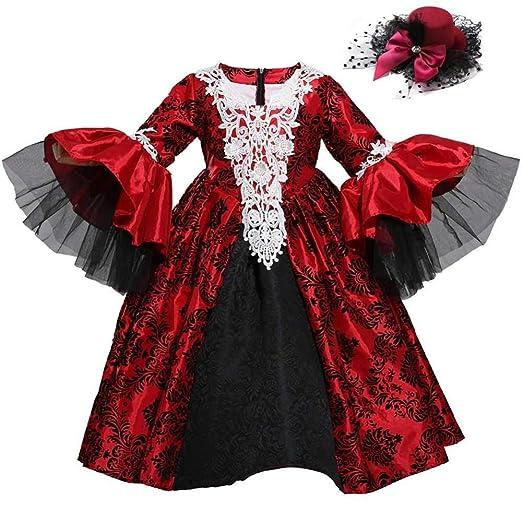 Lili Disfraz De Niña De Halloween para Niños Disfraz De Princesa ...