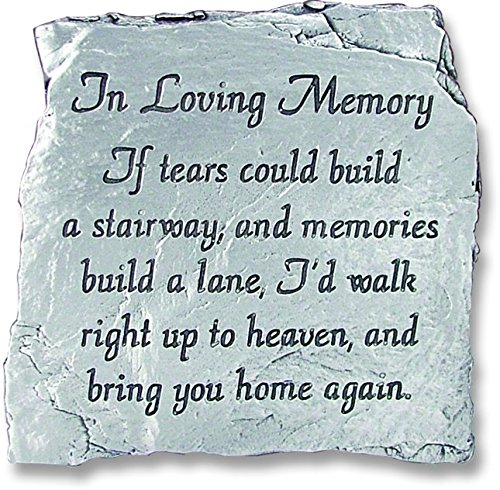 (Cathedral Art MS123 in Loving Memory Message Plaque, 3-1/2-Inch)