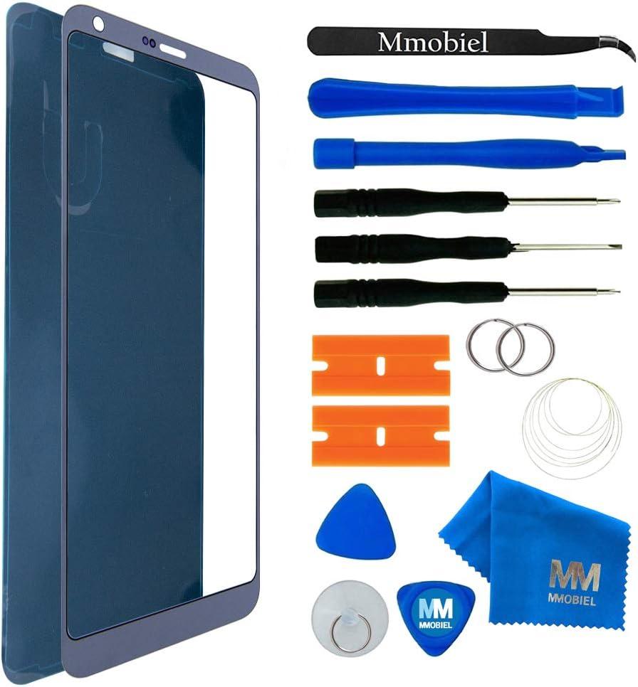 MMOBIEL Kit de Reemplazo Pantalla de Vidrio Compatible con LG G6 Series 5.7 Pulg. (Negro) Incl. Herramientas: Amazon.es: Electrónica