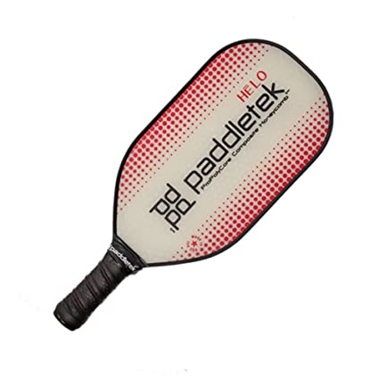 Paddletek HELO Pickleball Paddle Red Lite (7.2-7.55 oz)