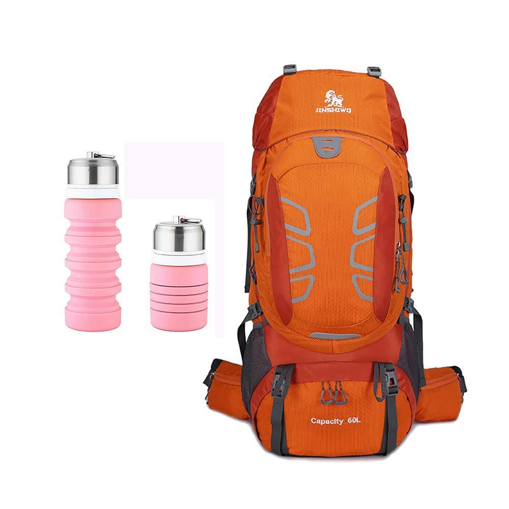 アウトドアスポーツバックパック登山ハイキングバッグショルダータクティカルバックパック大容量ハイキングバックパック60L  2 B07P4LW79X