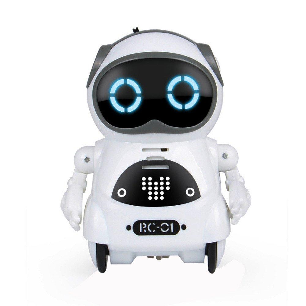 Oasics Robot teledirigido para niños, Divertido Robot de Juguete – Danza, dispara Flechas Blandas, Habla y Corre – RoboAttack, Funciones de Sonido y música, para niños y niñas