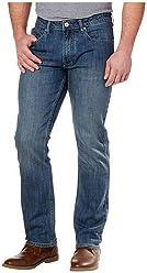 Buffalo David Bitton Mens Jackson-X Straight Stretch Jeans, Variety
