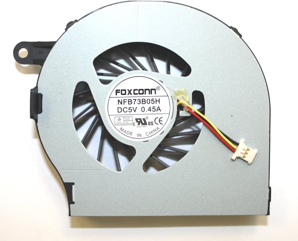 Power4Laptops Version 2 (Please Check The Picture) Replacement Laptop Fan 3 Pin Version for HP G72-C55DX, HP G72T, HP G72T-100, HP G72T-100 CTO, HP G72T-200