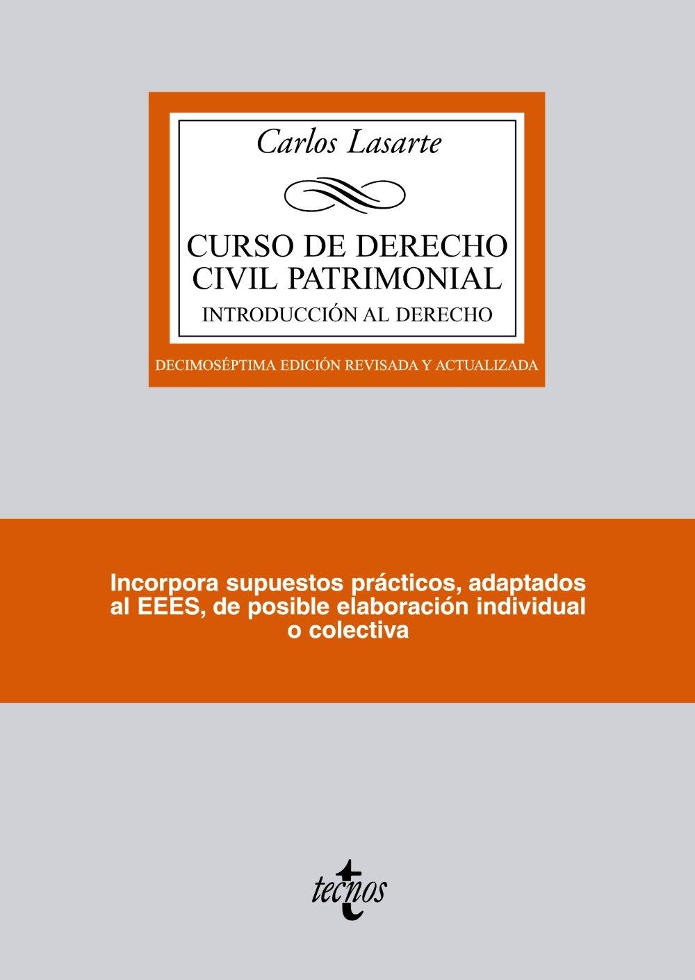 Curso de Derecho Civil patrimonial: Introducción al Derecho ...