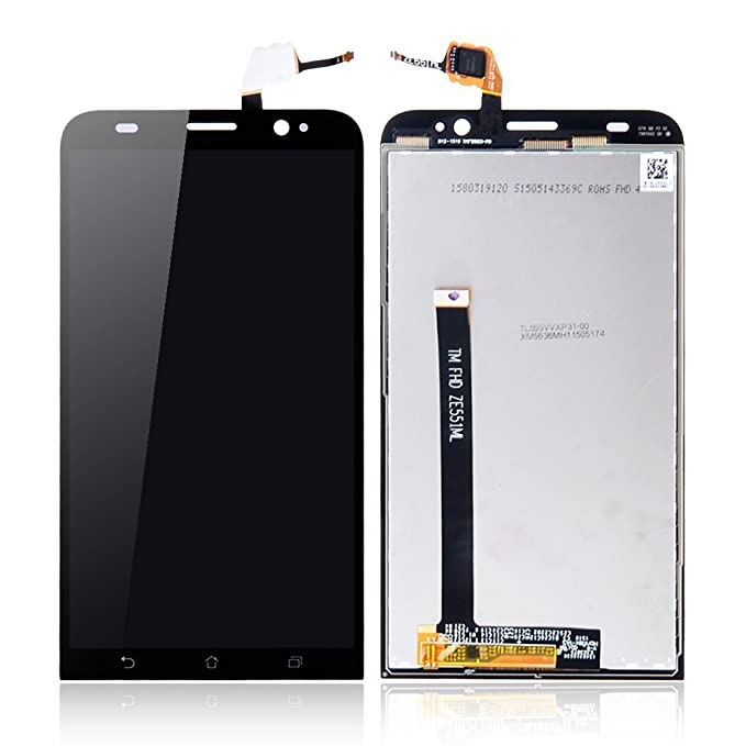 33a79396cb0 Image Unavailable. Image not available for. Color: New Touch Screen  Digitizer,Full LCD,Assembly Glass Repair part For Asus Zenfone2 ze551ml