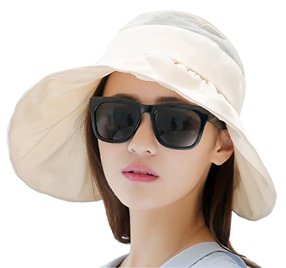 Generic Womens Sun Hats Packable Summer Hat Ponytail Chin Strap 1 OS ... faf2006f6de