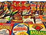 300 Vintage Baseball Cards in Old Sealed Wax Packs - Perfect for New Collectors