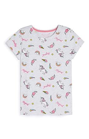Primark`` - Camiseta - para Mujer Gris Gris 164 cm (13-14