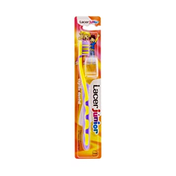 Amazon.com: Lacer Junior Toothbrush 1 Unit - Childrens Oral Hygiene ...