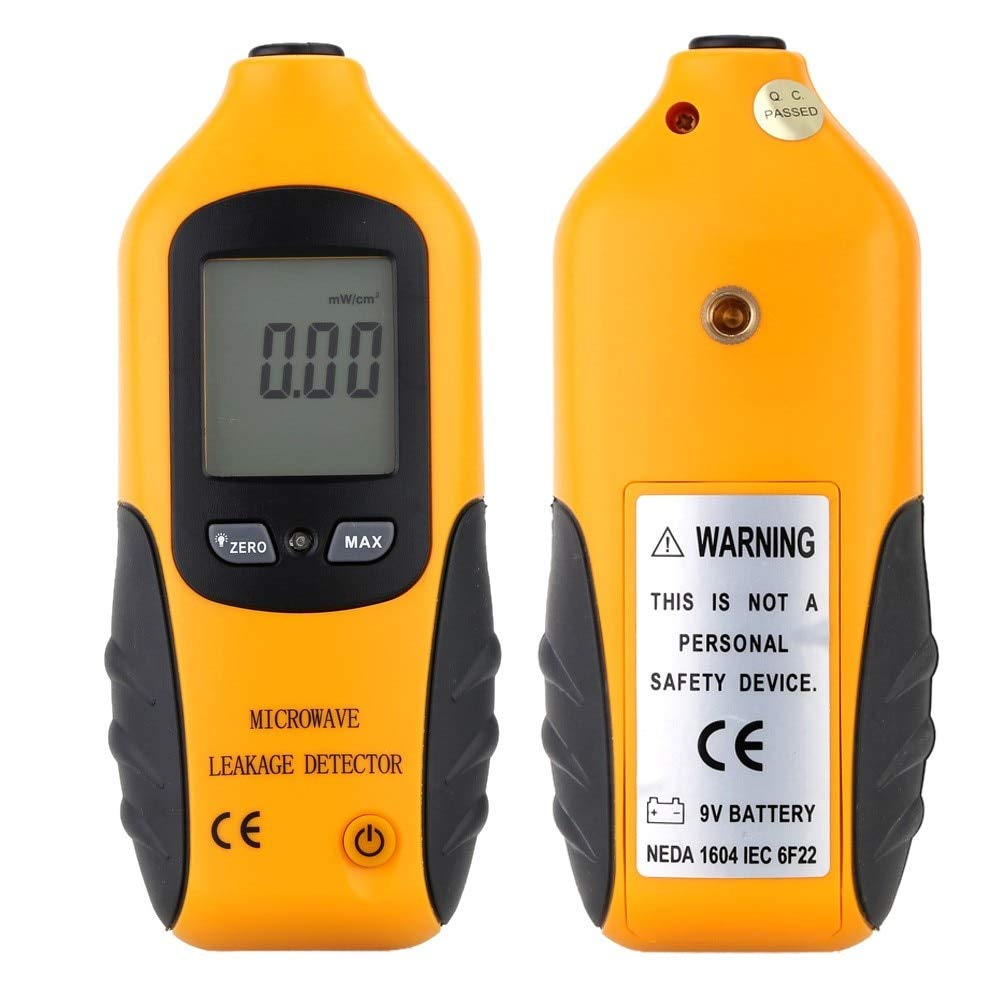 FURU RC[2]HT-M2 Professional Digital LCD Display Microwave Leakage Radiation Detector Portable High Precision Radiation Meter Tester - - Amazon.com