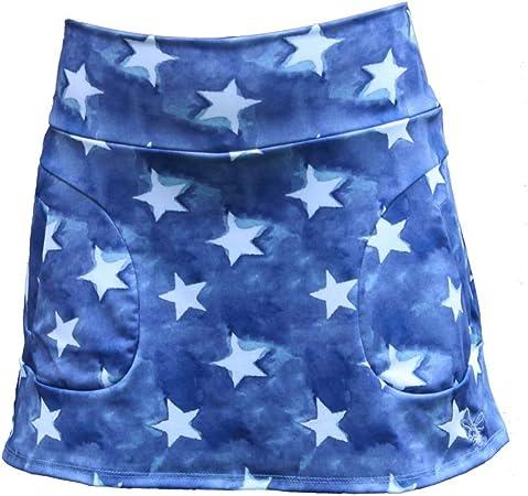 La Mouche Padel Falda Modelo básico Estrellas: Amazon.es: Deportes ...