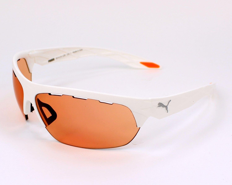 f3cb83787d Puma 0001S 003 White 0001S Wrap Sunglasses Golf