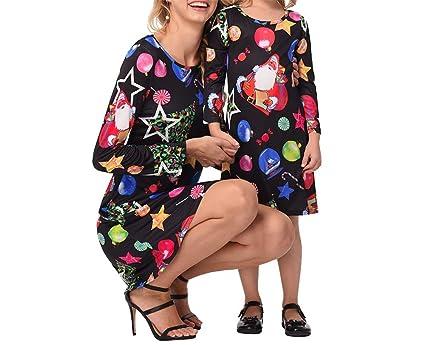 Vestito Da Stella Di Natale.Zhrui Vestito Da Stella Di Natale Vestito Da Festa Per La Mamma E La