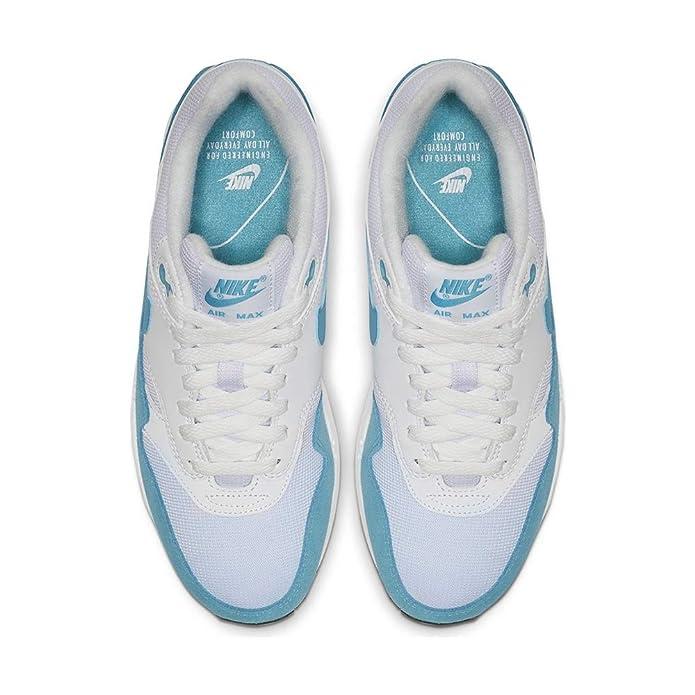Nike Damen WMNS Air Max 1 Leichtathletikschuhe, SchwarzWeiß, 35.5 EU