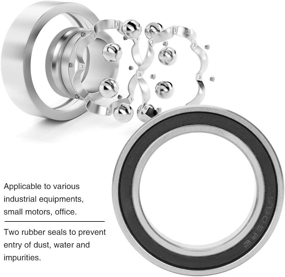 10 St/ück 25 mm 37 mm East buy Gummidichtungslager 7 mm 6805-2RS Gummidichtbare Rillenkugellager