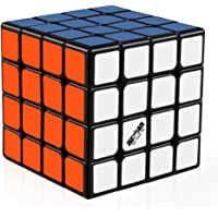 D-FantiX Qiyi Wuque 4x4 Speed Cube Magic Cube 4x4x4 Puzzle Black 62mm
