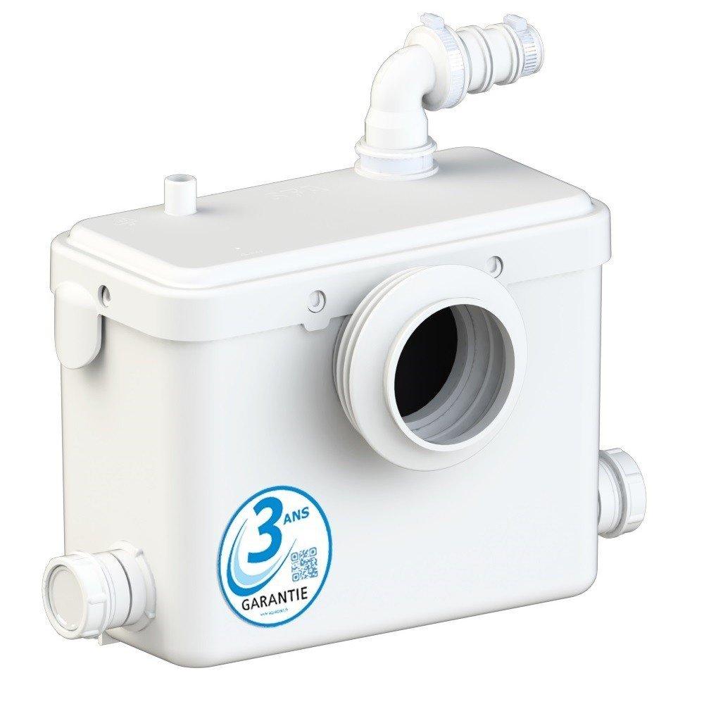 AQUASANI 3 - Broyeur WC pour sanitaire - MADE IN FRANCE et Garantie 3 ANS