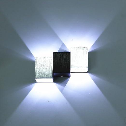 71 opinioni per Amzdeal® Lampada da Parete led in Alluminio a Risparmio Energetico 6 w per