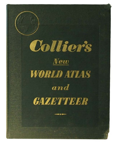 Colliers New World Atlas and Gazetteer