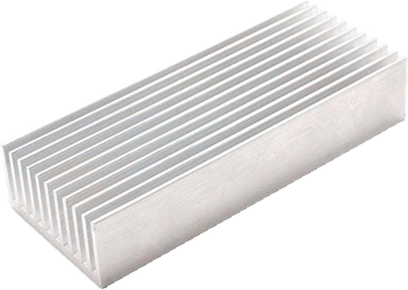 OdiySurveil(TM) 100 x 40 x 20MM Aluminium Heatsink Radiator Diffusion Cooling Fin Comb Heat Sink Cooler